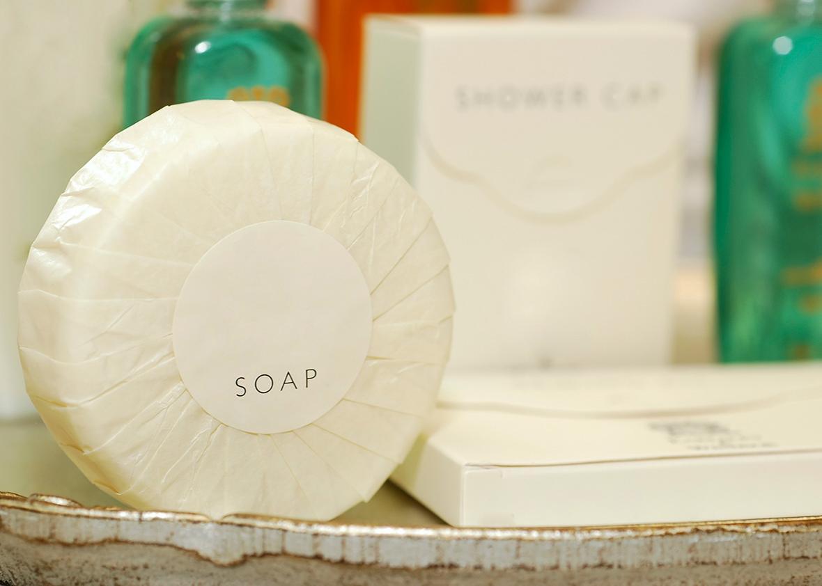انواع صابون هتلی